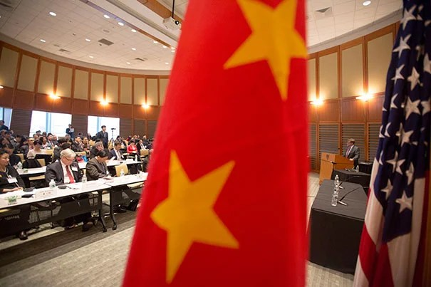 """This international travel of goods and people exposes us to the threat of novel diseases and old diseases, which have been largely forgotten here or developed resistance to our established treatments,"" said Nils Daulaire of the U.S. Department of Health and Human Services (photo 1). Daulaire was joined by Yuanli Liu (left), senior lecturer on global health at HSPH, and former HSPH Dean Barry Bloom (photo 2), and HSPH Dean Julio Frenk (photo 3)."
