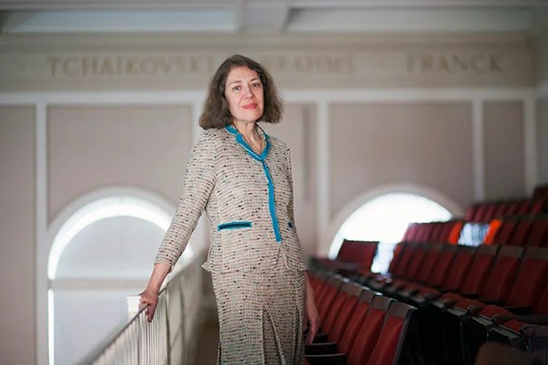 "Carolyn Abbate has been named a University Professor, Harvard's highest honor for a faculty member.  ""The University Professorships recognize crossing boundaries; I will do all I can to be worthy of the challenge inherent in that vision,"" said Abbate."