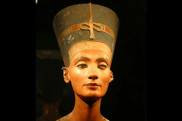 """A visiting scholar suggests that Nefertiti (photo 1) wasn't quite who people imagine she was, and eventually was revered as something of a sex goddess. Nefertiti is """"often represented as a powerful and independent figure,"""" said Jacquelyn Williamson (photo 2), and has a """"reputation as being a uniquely strong queen."""""""