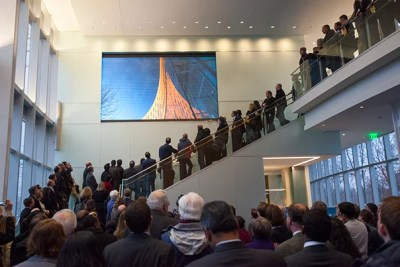 "At a dedication ceremony on Monday for the opening of Tata Hall (photo 1), named in honor of Ratan Tata (photo 2), a 1975 graduate of the advanced management program at Harvard Business School, Dean Nitin Nohria (photo 3) called Tata Hall ""a gift that will transform our campus for decades to come."""