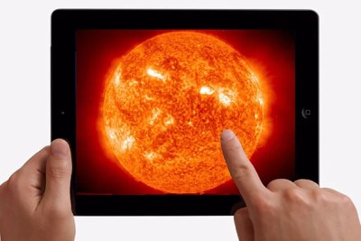 A new study shows that using an iPad or other tablet device can improve students' understanding of the scale of the solar system.