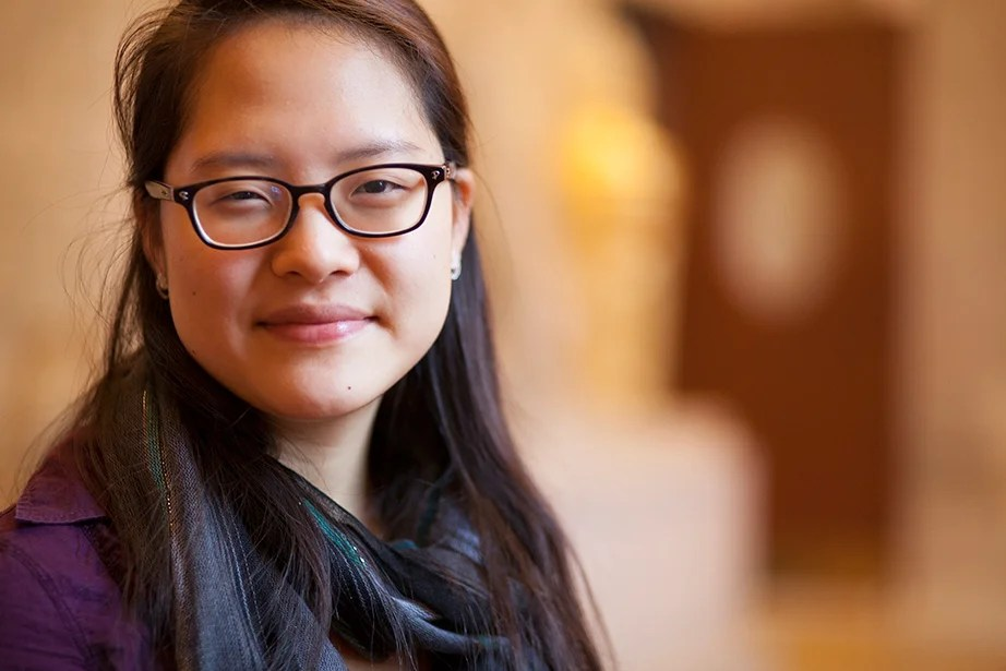 "Ye Dam Lee '15, co-head usher: ""Memorial Church has been the first church of which I feel truly a part. Going to church on Sunday has been one of the things that anchor me every week, to God and to life outside of academics. … More than any other place on campus, Memorial Church is where I feel at home."""