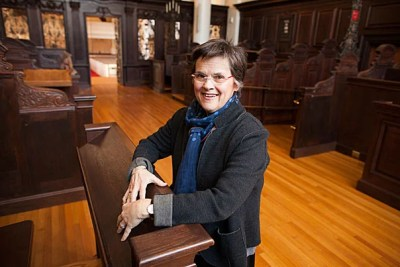 Lucy Forster-Smith has been appointed the Sedgwick Chaplain to the University and senior minister to the Memorial Church. Her approach to multifaith engagement, she said, is based on the notion of deeply honoring other people's experiences and backgrounds.
