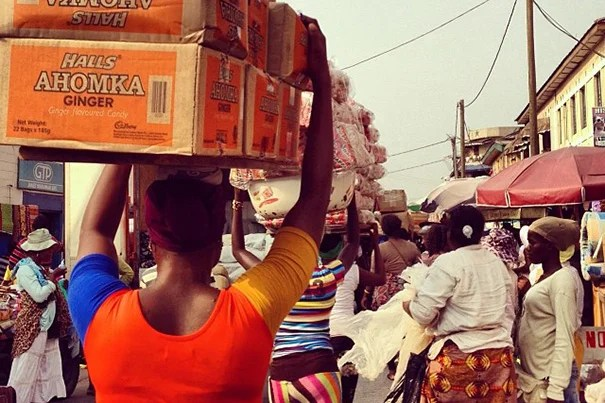 During January, Harvard Business School sent its students around the globe to experience real-world challenges. Among their stops: the Makola Market in Accra, Ghana (photo 1); a market in Phnom Penh, Cambodia (photo 2); and the crowded streets of Mumbai, India (photo 3).
