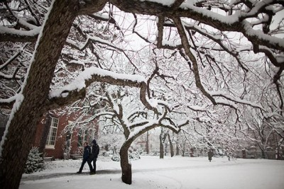 """""""With slack time in the schedule, the time lost to [weather-related] closure can be regained,"""" says Joshua S. Goodman, assistant professor of public policy at HKS."""