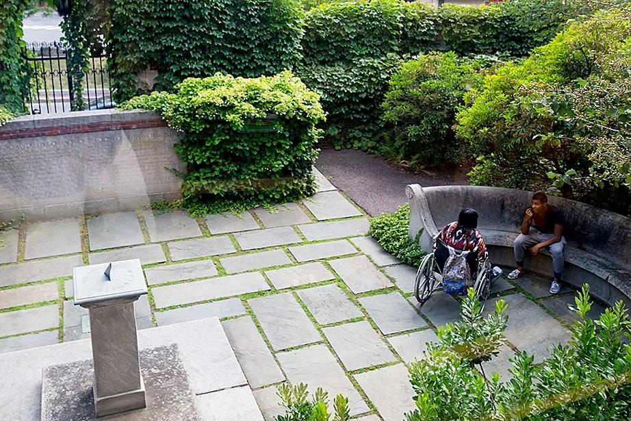Hidden Spaces: Secret garden – Harvard Gazette