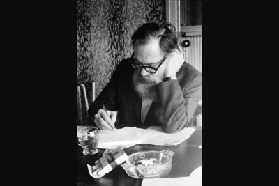 Oct. 25 marked the centennial of the poet John Berryman, who was Harvard's Briggs-Copeland Lecturer on English from 1940 to 1943. Berryman jumped from the Washington Avenue Bridge in Minneapolis in 1972 at the age of 57.