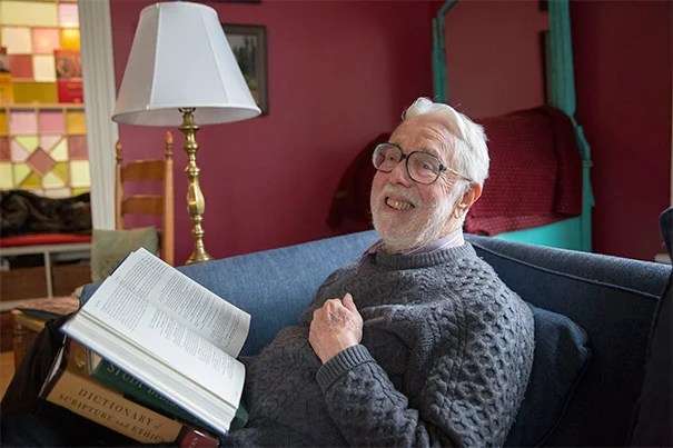 """I know of course that there are those who ask, 'Why should I read it anyway?'"" said Hollis Research Professor of Divinity Emeritus Harvey Cox. ""My answer is it that if you don't know something about what's in the Bible, you are not a fully educated person. It informs our literature, our poetry, films, plays, and, whether we like it or not, it has deeply influenced the history and value structure of our whole civilization."""