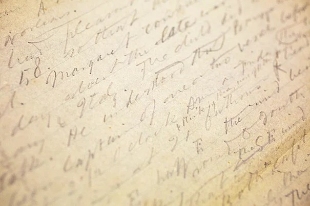 "A recent Houghton Library acquisition is shedding new light on the tragic drowning of Margaret Fuller and on what Henry David Thoreau found as he investigated the death on behalf of Ralph Waldo Emerson. ""Here's Thoreau, he is being sent by Emerson, also a very important figure to our collections, to investigate the death of Margaret Fuller. And the Fuller papers are here,"" said Leslie Morris (photo 2), the curator of modern books and manuscripts, who helped acquire the manuscript. ""It really plays to three of our major figures here at the library. It brings them together."""