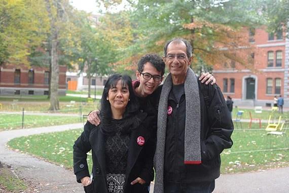 Nava Family: Father: Hector Nava Mother: Grita Nava Son and Harvard Freshman: Nick Nava