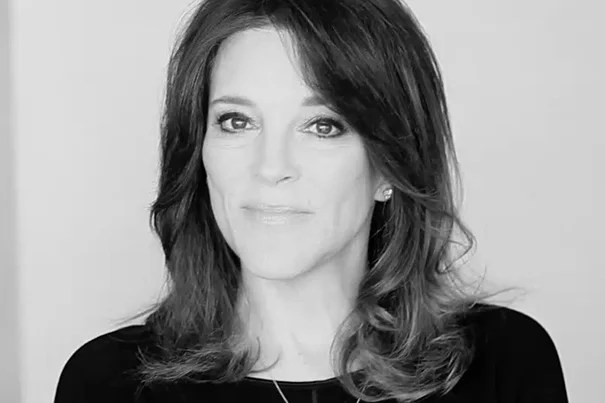 """""""We are imperiling the future of life on Earth due to the absence of ethics,"""" said Marianne Williamson, author of """"A Return to Love."""" Williamson will speak at Harvard Divinity School Wednesday."""