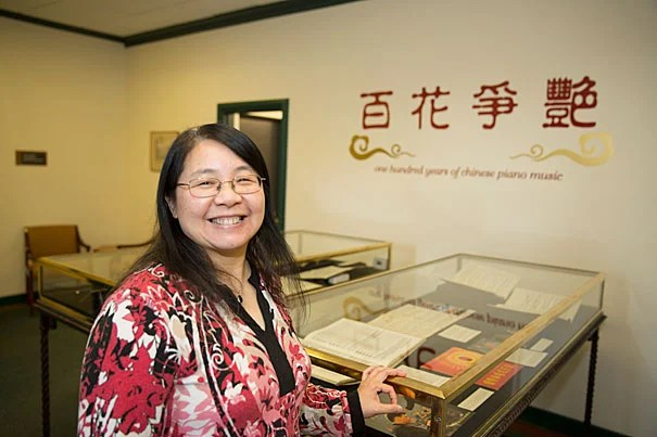 A new Chinese music exhibit curated by library assistant Lingwei Qiu sheds light on a tradition influenced by native folklore, poems, philosophy, and even a complex social-political movement, as well as Western styles and techniques.