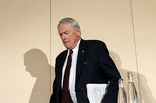 """Former World Anti-Doping Agency President Richard W. Pound (pictured), co-author of a report on the use of performance-enhancing drugs, said the current doping in Russia was """"the tip of the iceberg."""" Pound presented the findings at a press conference in Geneva, Switzerland, on Monday."""