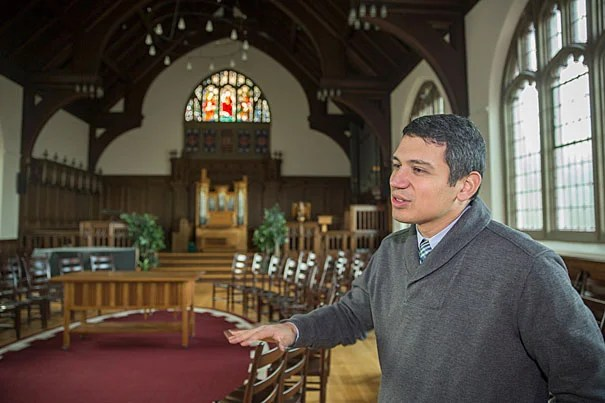 """One of the things [Cormac] McCarthy helps me see is that Christian sacramental tradition raises the question of what it means for the holy to be present in the here and now,"" said Harvard Divinity School Professor Matthew Potts."