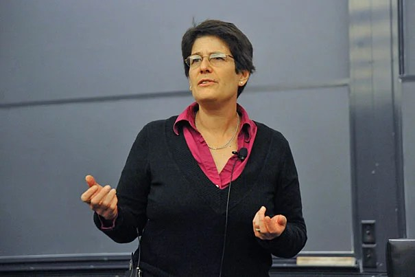 """Herchel Smith Professor of Computer Science Margo Seltzer: """"I like building stuff that people use, and so the idea of actually getting some fruits of our labor into people's hands and making their lives better was really appealing."""""""
