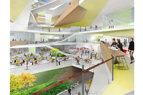 Harvard Classroom Design ~ Final ok for science and engineering complex in allston