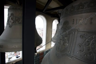 Dozens of bells across Cambridge, including the 17 bells in the Lowell House tower, will ring out in celebration on Commencement day.