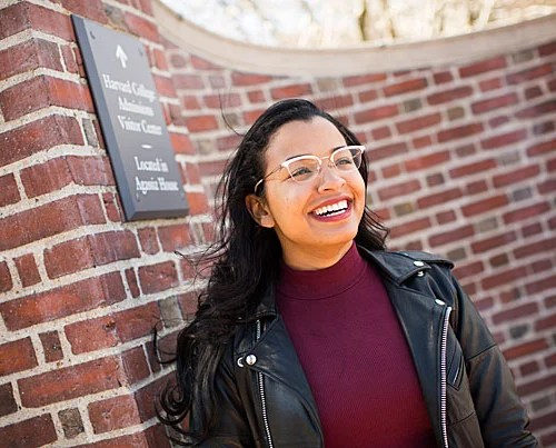 """Dominique Donette, who is graduating with a master's degree in education policy and management, plans to advocate for educational equity. """"It's been a transformative experience, but not in the way I thought it'd be, and that's OK,"""" she said of her time at Harvard."""