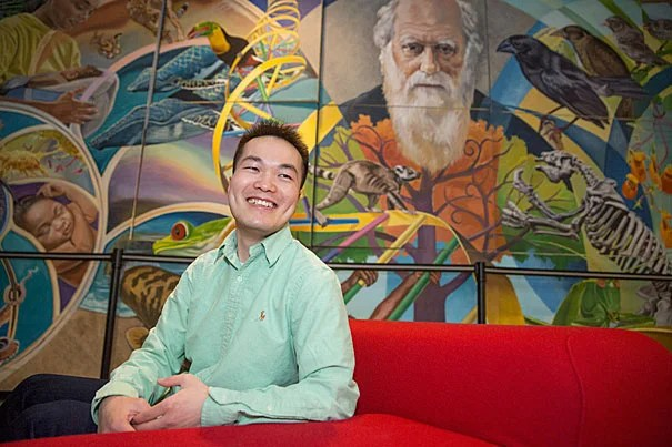 """Graduate speaker Jiang He will urge his fellow graduates to use their Harvard knowledge to improve life for people in the developing world. """"I have experienced the drastic contrasts of rural and modern life, and have seen how knowledge and technology are unequally distributed,"""" he said."""
