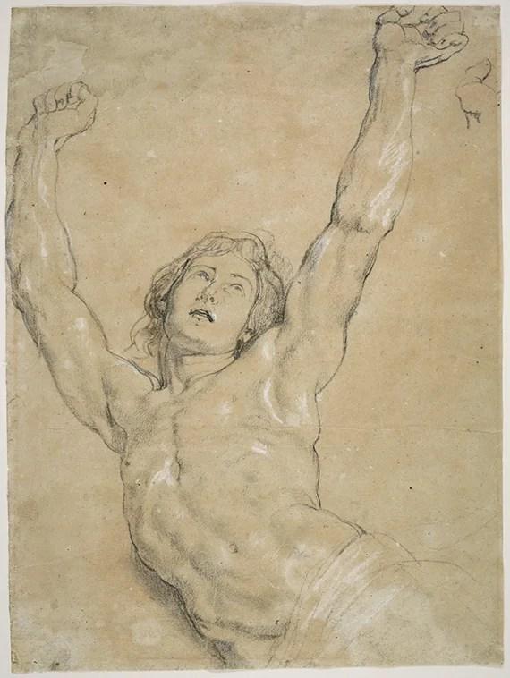 Rubens-Study-Christ-Elevation_1949.3_DDC10349_PR