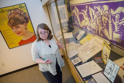 Archivist Megan Sniffin-Marinoff discusses the memorabilia that tells the story of The Harvard Lampoon throughout its 140 years.