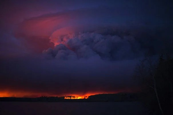 Massive clouds of smoke formed from the fires of Fort McMurray, Alberta, Canada, caused respiratory illnesses in communities more than 1,000 miles away.