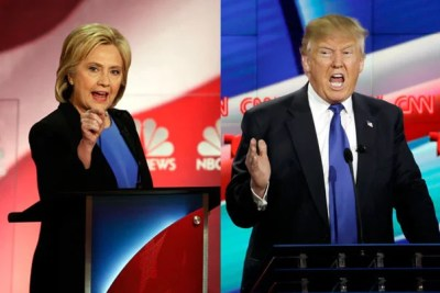 "Democratic presidential candidate Hillary Clinton and Republican presidential candidate Donald Trump will seek to ""not lose"" in front of a television audience that is expected to rival the Super Bowl's."