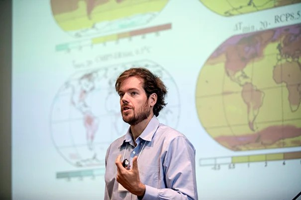 """A two-year HGI grant has been awarded to Peter Huybers, professor of Earth and planetary sciences, for his project """"China's Health Weather,"""" which aims to understand and predict how climate affects the nation's populace."""