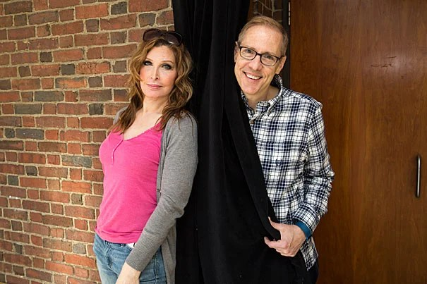 """The A.R.T. production """"Trans Scripts"""" is drawn directly from interviews conducted by writer and producer Paul Lucas (right). Bianca Leigh, who is transgender, portrays one of the play's seven characters."""