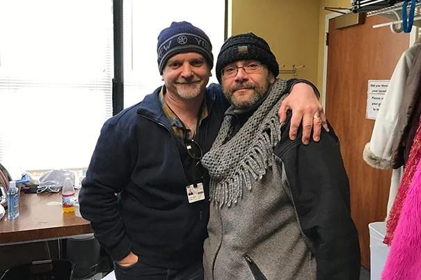 Michael Wilson and Remo Airaldi
