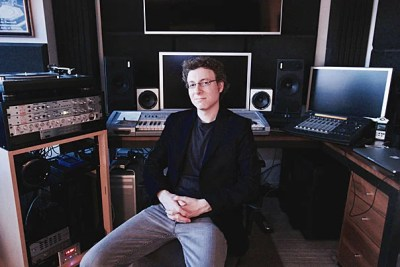 """Composer Nicholas Britell '03, who was nominated for an Academy Award for his score for """"Moonlight,"""" melded his love of music with his studies as a psychology concentrator."""