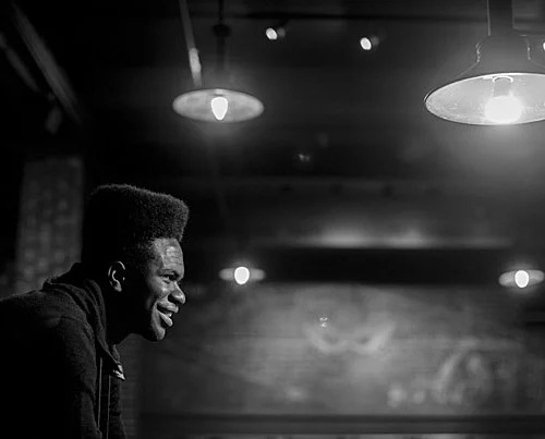 "Obasi Shaw '17 submitted Harvard's first rap thesis, ""Liminal Minds,"" which combines elements of Middle English poetry with issues of racial identity in America. ""[African-Americans are] free, but the effects of slavery still exist,"" says Shaw. ""Each song is an exploration of that state between slavery and freedom."""