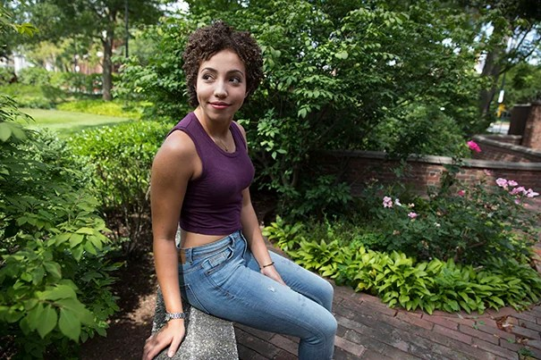"Rising actress Ashley LaLonde '20 may soon have the enviable dilemma of choosing between joining the traveling cast of the hit musical ""Hamilton"" or continuing her studies at Harvard."