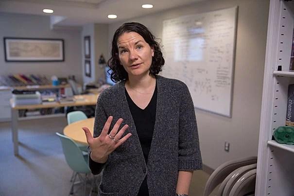 Emily Balskus, Morris Kahn Associate Professor of Chemistry and Chemical Biology at Harvard