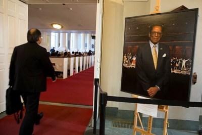 S. Allen Counter, Harvard professor, was remembered at the Memorial Church, Harvard University.