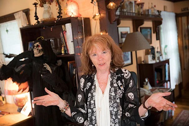 Eleven months of the year, Lesley Bannatyne is a Harvard Music Department administrator. But come October, she's the favorite Halloween expert of major media outlets around the world.