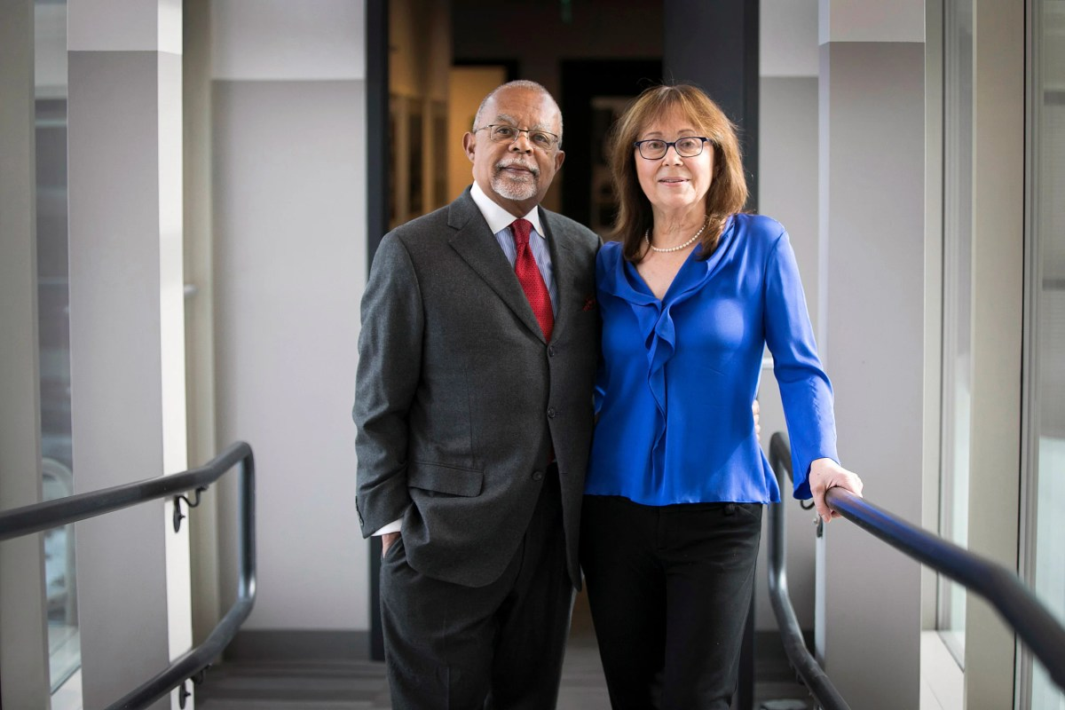 "Harvard scholars Henry Louis Gates Jr. and Maria Tatar celebrate their collaborative book project ""The Annotated African American Folktales."""