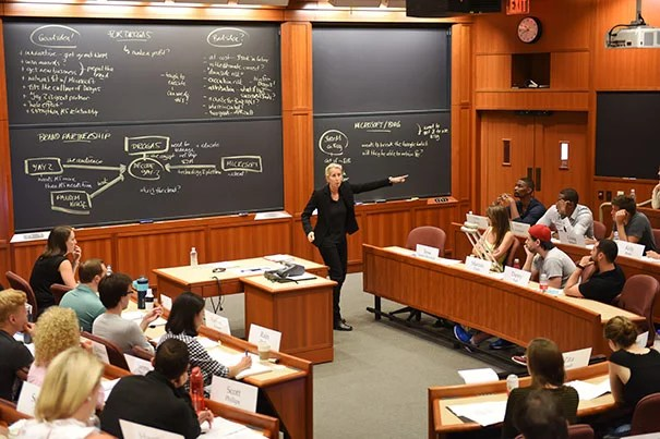 nba players and harvard m b a students work together to build