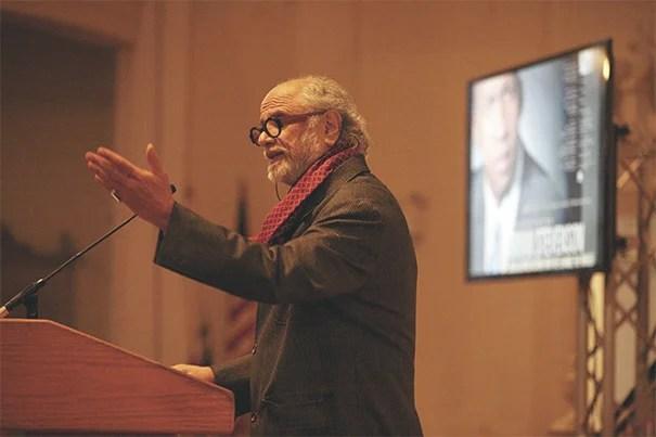Homi Bhabha, director of the Mahindra Humanities Center