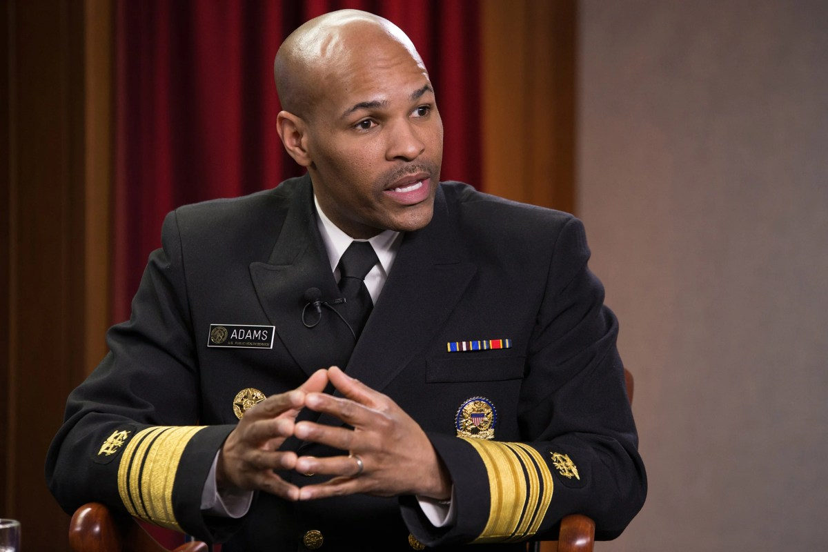 erome Adams, MD, MPH, the 20th Surgeon General of the United States