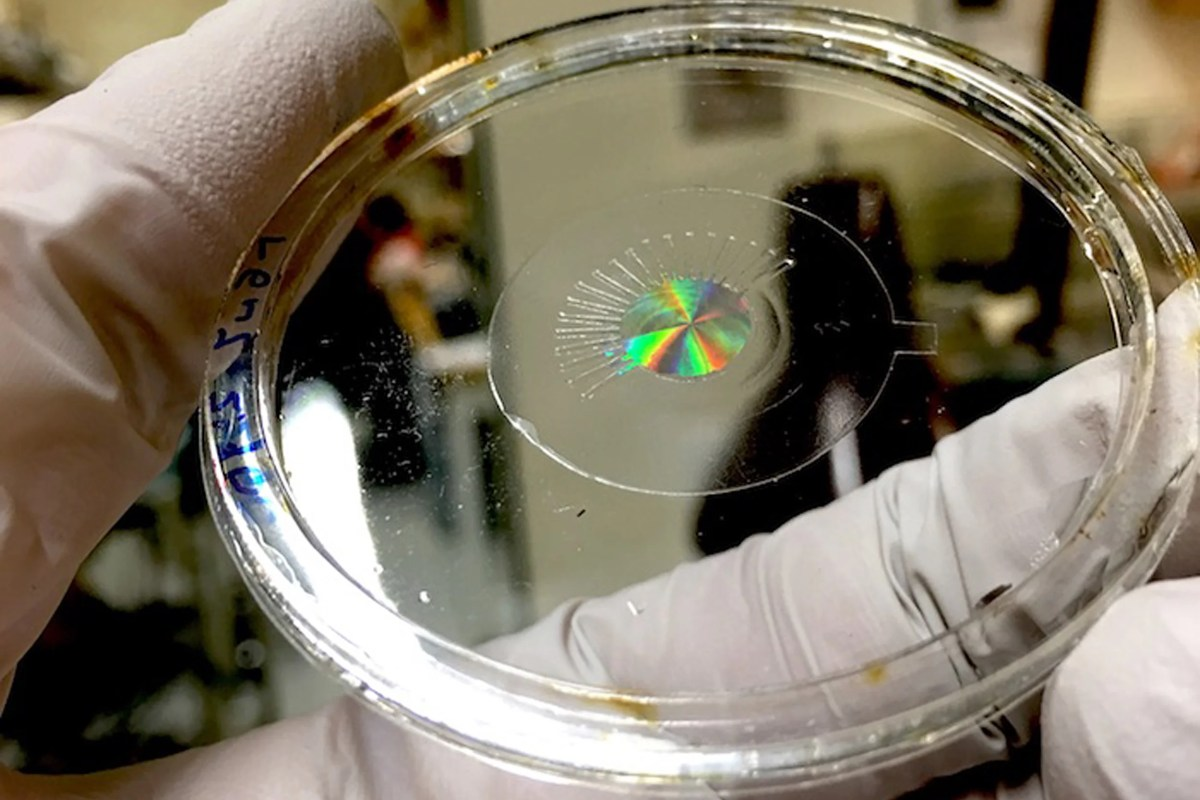 Artificial Eye on silicon