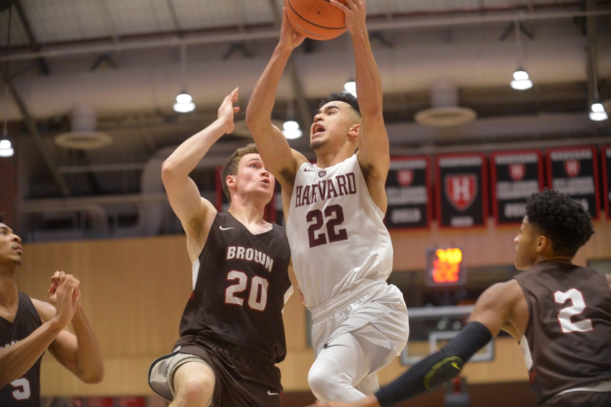 men's basketball tallied a 65-58 victory over brown – harvard gazette