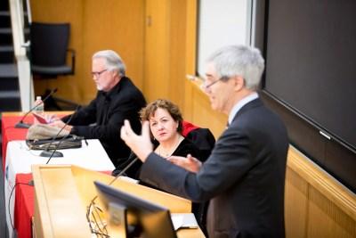 Academic freedom panelists