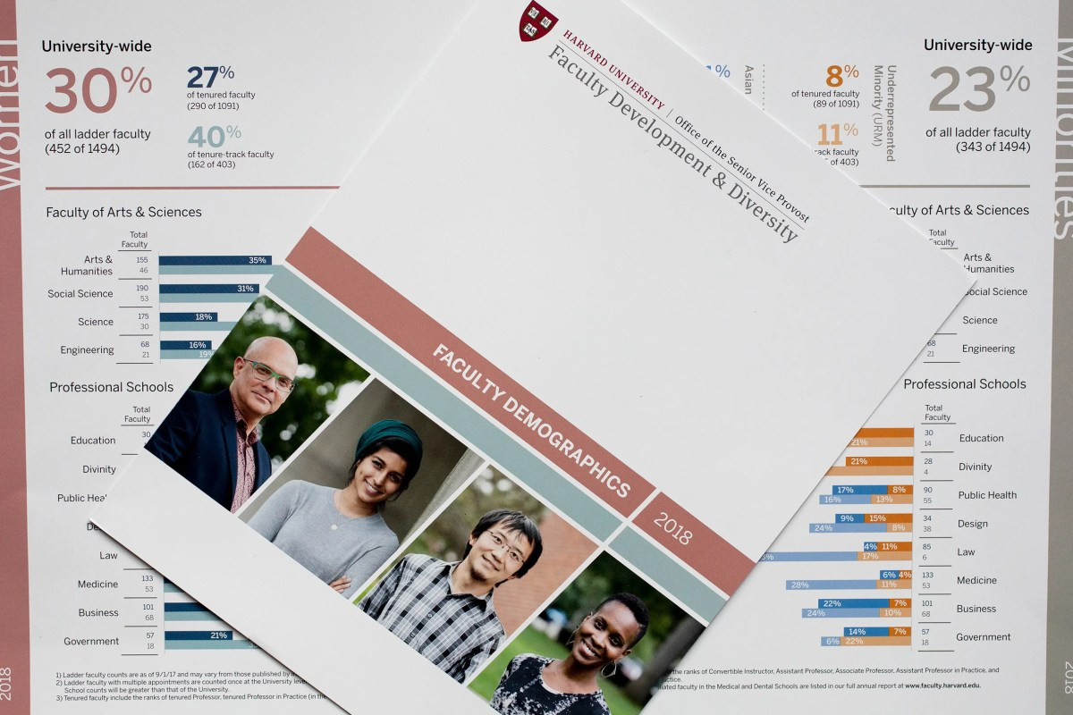 Harvard University Faculty development and diversity report.