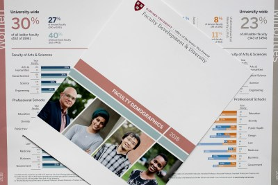 Harvard University Faculty development and diversity report.