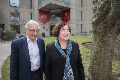 Mary Grassa O'Neill, a senior lecturer at HGSE, and HBS Professor Allen Grossman talk about their Schools' new joint certificate program for school principals.