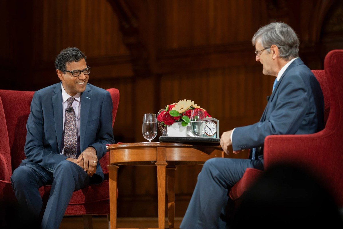 Atul Gawande and Dean Hempton