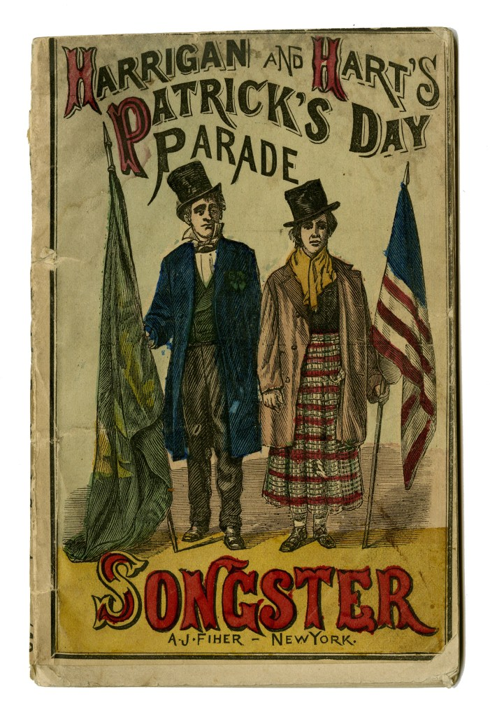 Harrigan and Hart's Patrick's Day Parade Songster, 1874;