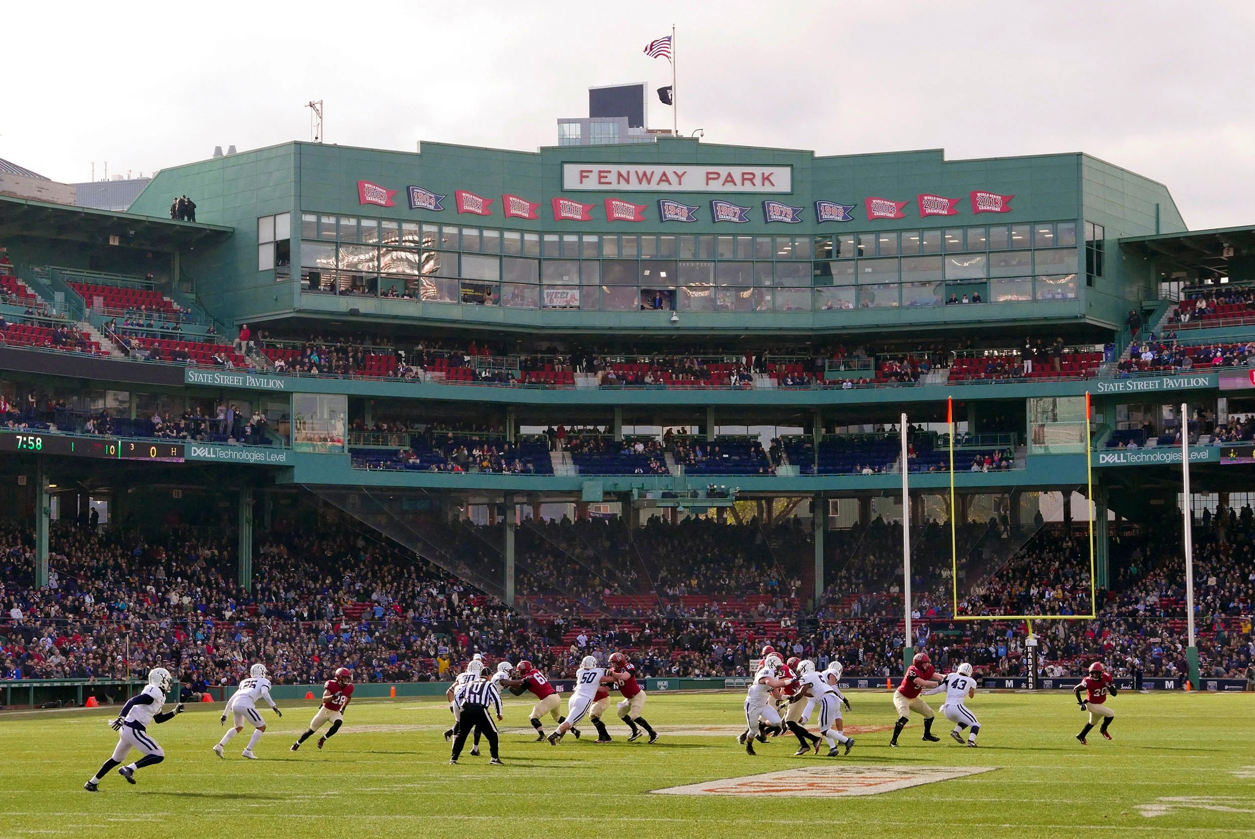 Fenway to host 135th Yale-Harvard game