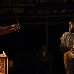 Playwright Inua Ellams discussed research behind 'Barber Shop Chronicles'